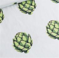 Afbeelding van Artichoke - Cotton Lawn - Dageraad Groen