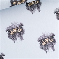 Image de Ostrich - French Terry - Bleu Halogène