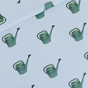 Bild von Watering Cans - M - Baumwolle Gabardine Twill - Nebelblau