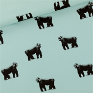 Image de Gorillas - M - French Terry - Bleu Brume Grisâtre