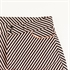 Picture of Diagonals - M - Katoen Canvas Gabardine Twill - Zwart & Wit & Koper