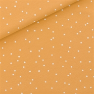 Image de Snow Dots - M - French Terry - Jaune Miel